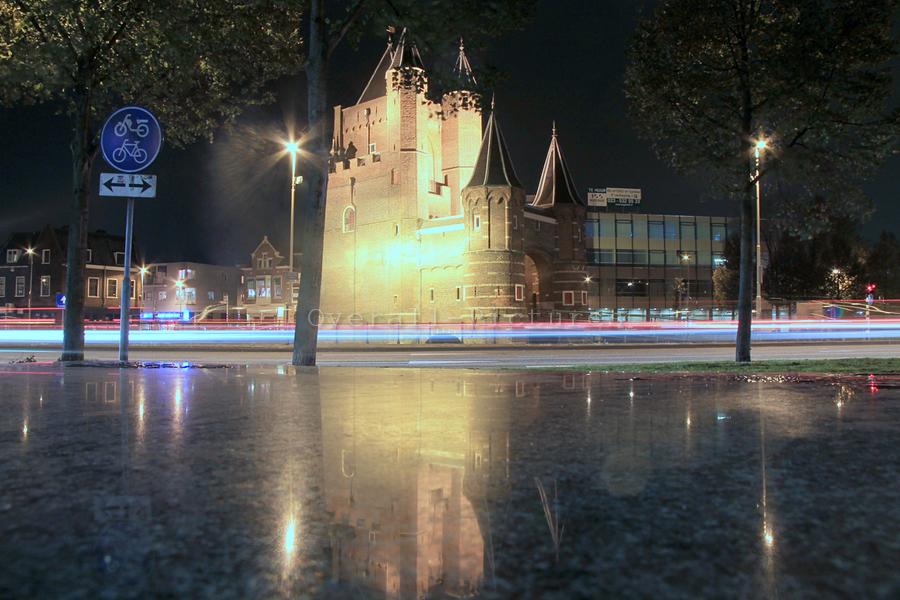 Moppersmurf bij Poortje Haarlem