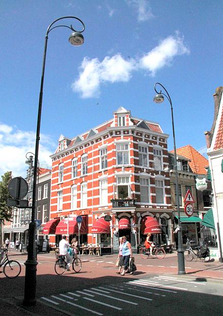 Haarlem mooi pand: In den gevulde broodmand