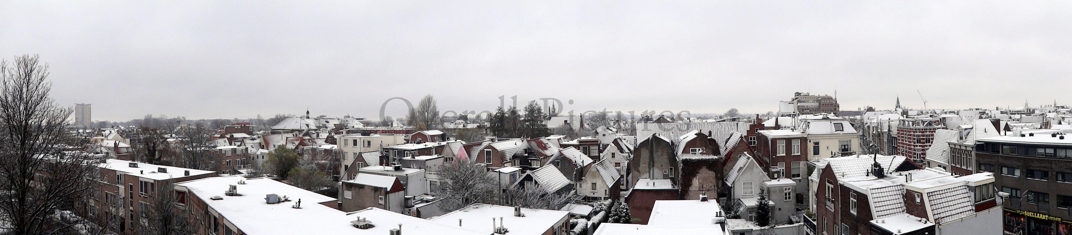 Haarlem Winter sleep panorama Sony