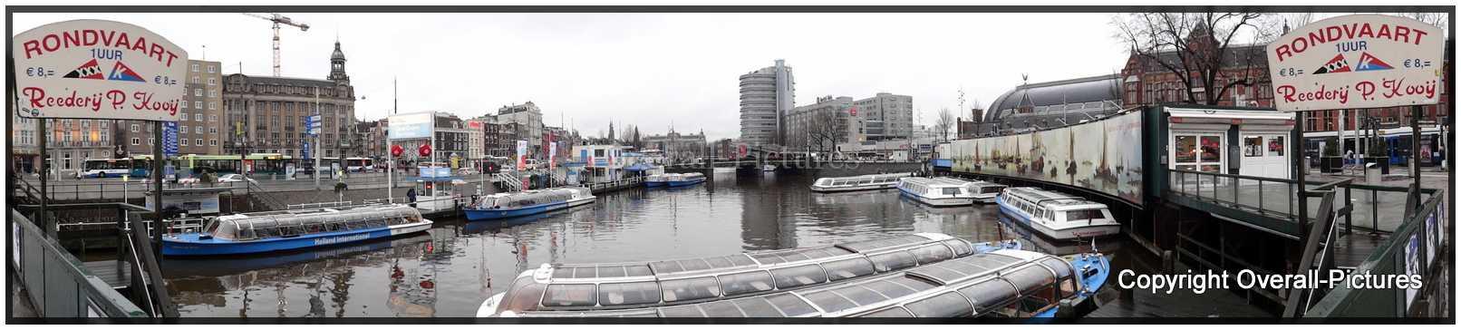 Amsterdam sleeppanorama